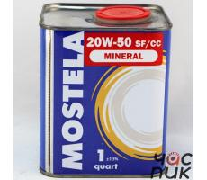 Mostela Mineral 20w-50 1л